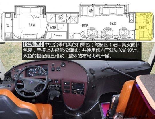 拖式房车内部结构图