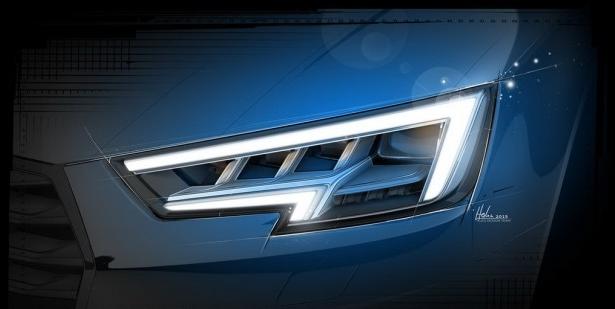 设计图-成功人士专属座驾新一代奥迪A4将于九月份亮相,宜家宜商宜