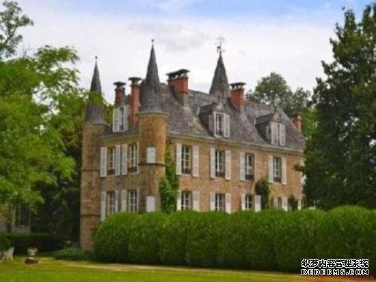 今日头条新闻英夫妇245万人民币买下法国古堡