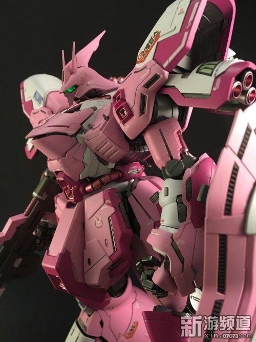 va版高达:粉红色的少女款