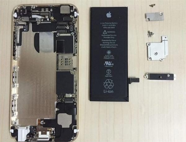 苹果6s主板图解高清图