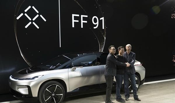 热门 乐视法拉第首款量产电动车FF91发布 坐拥两个第一高清图片